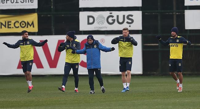 Fenerbahçede derbi hazırlığı