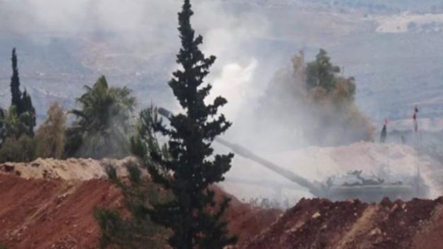 TSK, İdlib'de sivil yerleşimleri vuran rejime karşılık veriyor