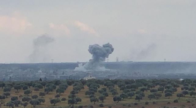İdlibin Neyrab köyünde çatışmalar sürüyor
