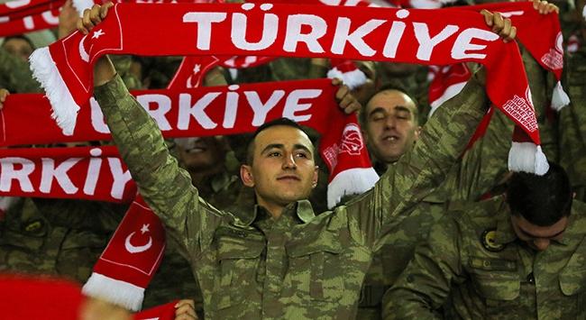 Türk Silahlı Kuvvetlerinden 12 Dev Adama destek