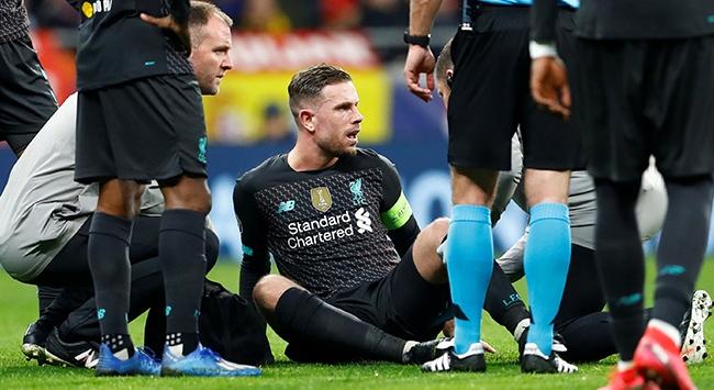 Liverpoolda Henderson 3 hafta yok