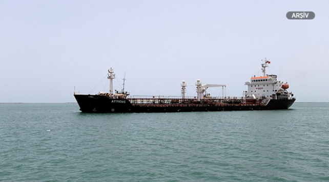 Yemende bir gemide 200 ton patlayıcı madde ele geçirildi