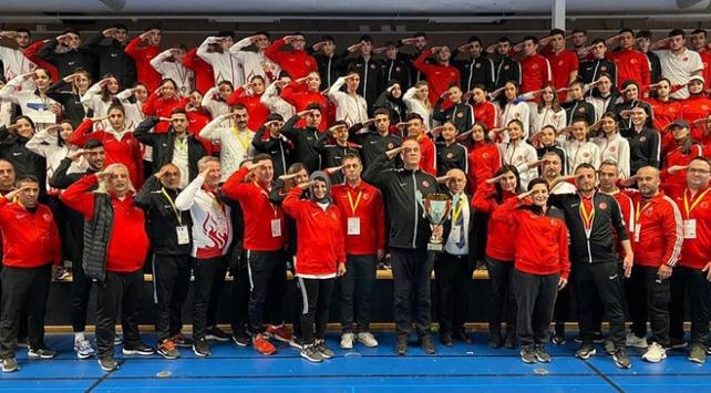Milli tekvandocular Avrupadan 37 madalya ile döndü
