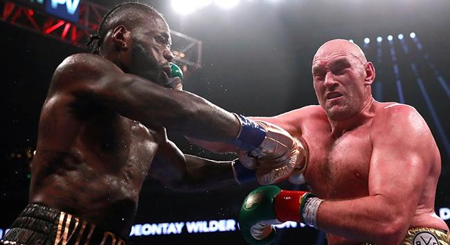 Wilder ile Fury ikinci kez ringe çıkacak