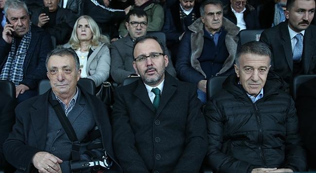 Bakan Kasapoğlu dev maçı değerlendirdi