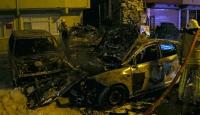 İstanbul'da park halindeki 9 araç kundaklandı