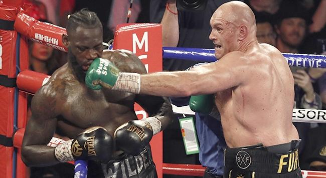Dünya Ağır Siklet Boks şampiyonu Tyson Fury
