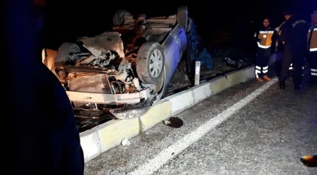 Denizlide yolcu otobüsüyle otomobil çarpıştı: 3 ölü, 1 yaralı