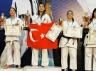 Ashihara Avrupa Şampiyonası'nda Türkiye takım halinde birinciliği kazandı