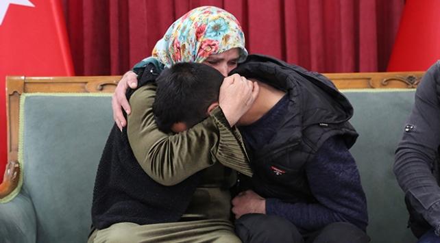 Diyarbakırda bir aile daha evladına kavuştu