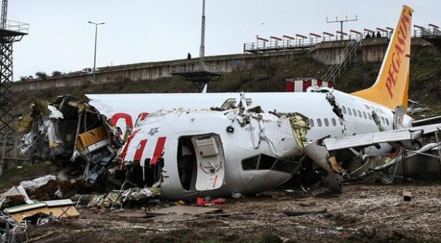Uçak kazasıyla ilgili kaptan pilot adliyeye sevk edildi