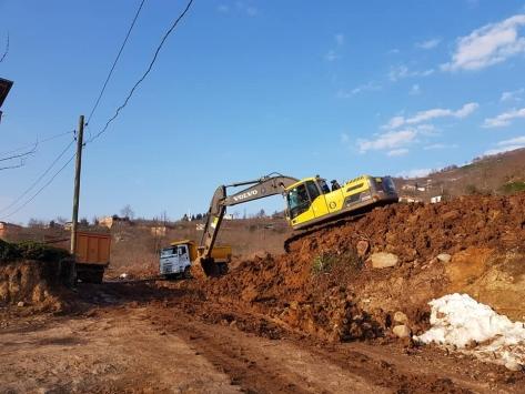 Güce ilçesinde TOKİ konutlarının inşaatına başlanıldı