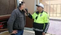 Edirne'de öğrenci servisinin sürücüsü alkollü çıktı