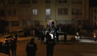 Ankara'da zemini çöken 4 katlı bina boşaltıldı