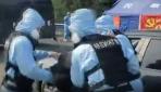 Çin polisinden ilginç koronavirüs tatbikatı