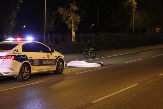 İzmirde motosiklet kazası: 1 ölü