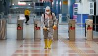 Ankara'da metro istasyonlarında virüse karşı temizlik
