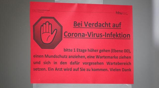 Almanyada askeri üste koronavirüs alarmı
