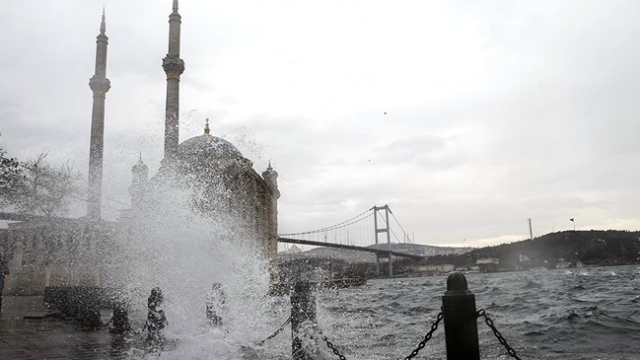 Meteorolojiden İstanbul için 'turuncu' uyarı