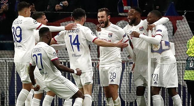 Olympique Lyon Juventusu tek golle geçti