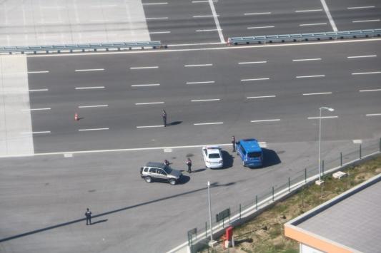 Manisada helikopter destekli trafik denetimi yapıldı
