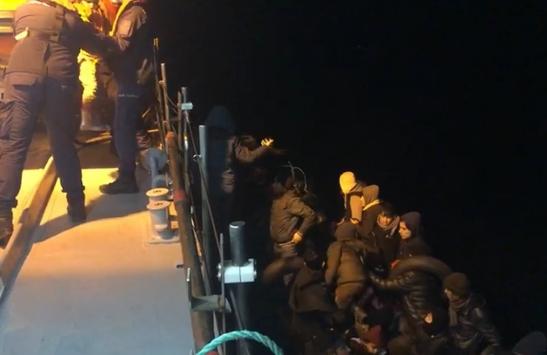 Çanakkalede 36 düzensiz göçmen yakalandı