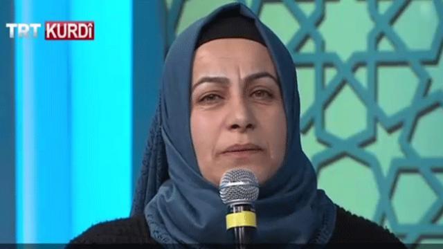 Anneler evlatlarına TRT Kürdi'den seslendi
