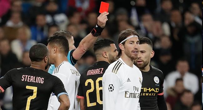 Futbolun hırçın yüzü Sergio Ramos