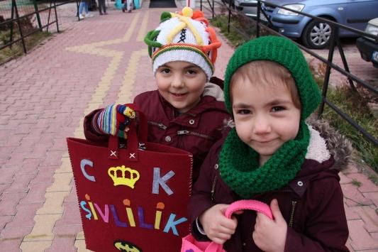 Konyada çocukların üç aylar sevinci: Şivlilik