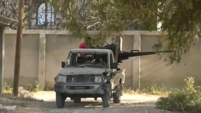 Libya'daki siviller Hafter güçlerinin hedefinde