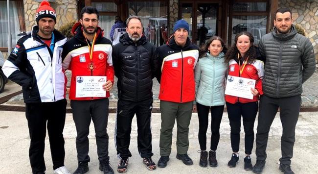 Kayaklı Koşu Balkan Kupasıda 2 madalya