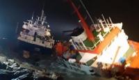 Tuzla açıklarında gemi kazası