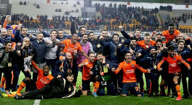 Medipol Başakşehir Avrupa Liginde son 16ya kaldı