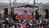 Gazzelilerden Trump'ın Filistini parçalama planına tepki