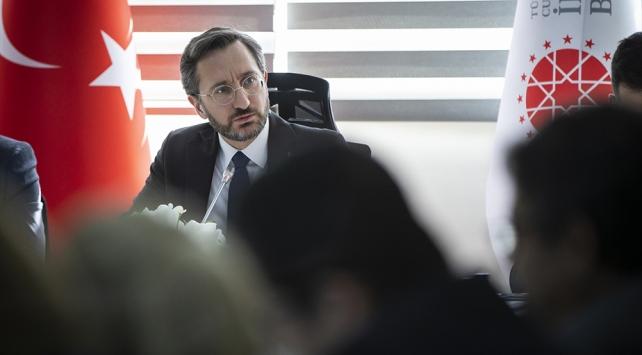 İletişim Başkanı Altun: Rejim unsurları Türkiye için meşru hedef konumundadır
