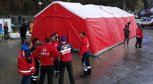 Sarp Sınır Kapısında koronavirüs tedbirleri: Sahra hastaneleri kuruluyor