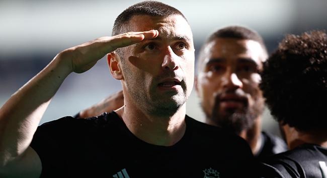 Burak Yılmaz attı Beşiktaş kazandı