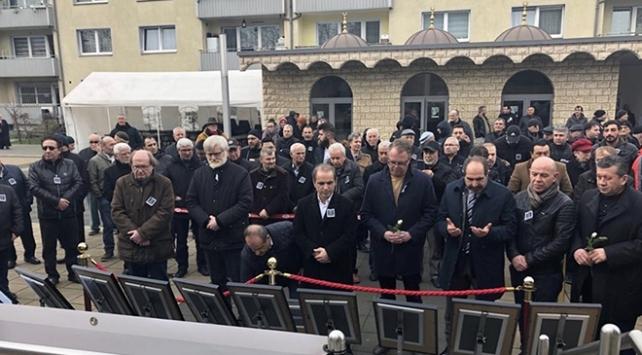 Hanau saldırısının kurbanları Duisburgda anıldı