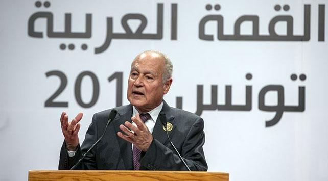 Arap Birliği Genel Sekterinden Suriye'nin kuzeybatısı için ateşkes çağrısı