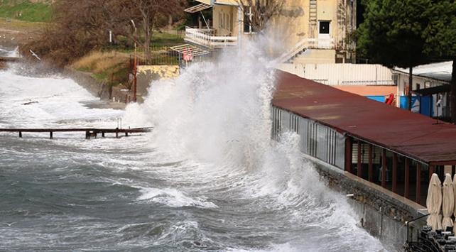Meteoroloji uyardı: Ege Denizi ve Akdenizde fırtına bekleniyor