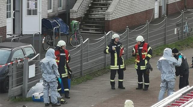 Almanyadaki camiye şüpheli toz bulunan bir zarf gönderildi
