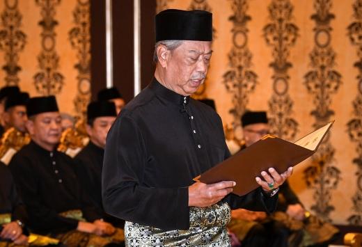 Malezyanın yeni Başbakanı yemin etti