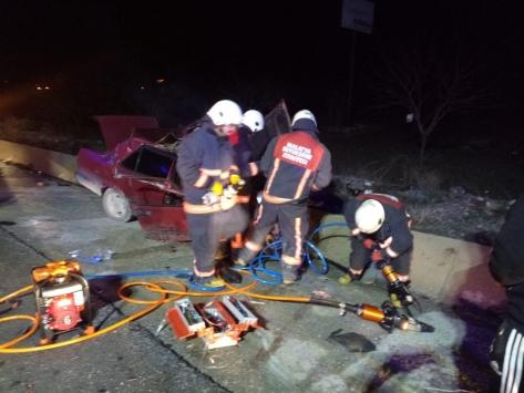 Malatyada tır ile otomobil çarpıştı: 1 ölü, 1 yaralı
