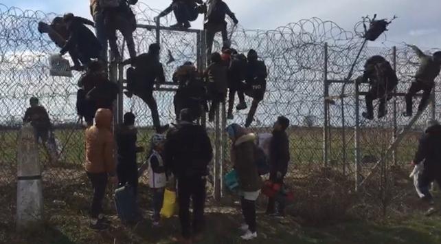 Düzensiz göçmenler Avrupanın kapısında