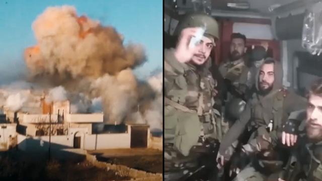 Rejim askerlerinin ambulans oyunu
