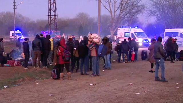 Göçmenlere Türkiye'den yardım eli