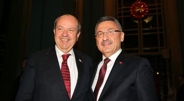 Oktay, KKTC Başbakanı Tatarı kabul etti