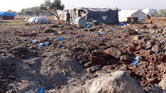 TRT Haber İdlib'de bombalanan beldede