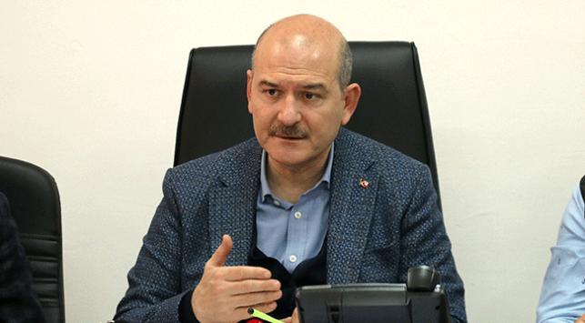 Bakan Soylu: Malatya ve Elazığda 3 bin 300 konteynerimiz kuruldu