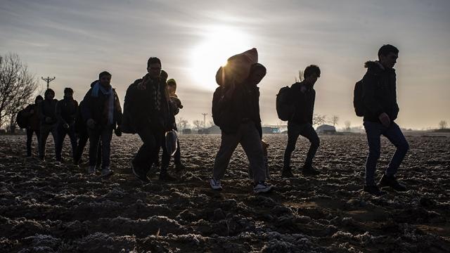 Sığınmacıların hedefi Almanya